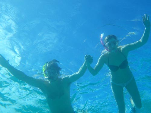 Snorkel off your private yacht charter in the BVI