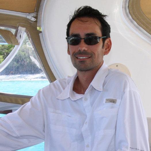Captain Dana Paradise - Certificed U.S. Coast Guard Charter Boat Captain