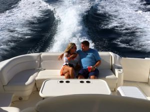 Get away from the crowds on a private yacht!