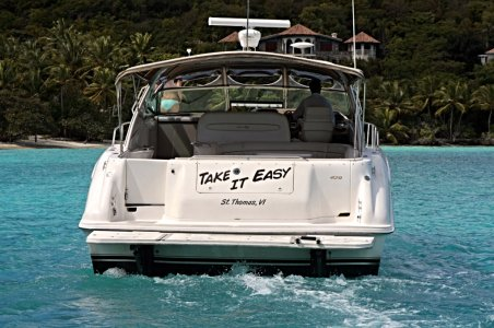 Take It Easy Luxury Yacht Previously Owned by Kenny Chesney