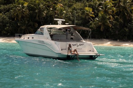 Tour the Virgin Islands on the Take It Easy private yacht.