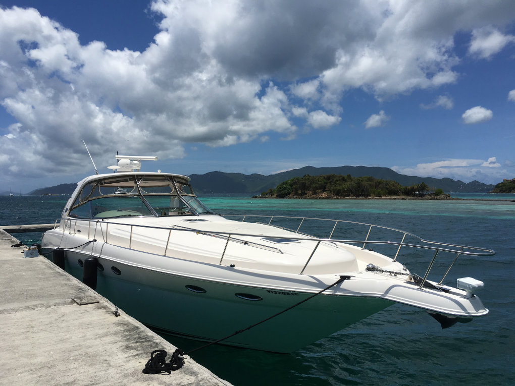 Take It Easy 2 - Crewed Luxury Motor Yacht Charters of the Virgin Islands