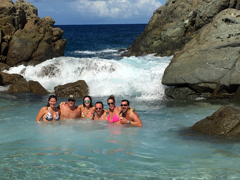 Bubbly Pool - Jost Van Dyke - BVI Boat Tour