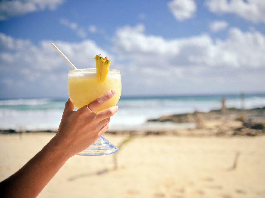 White Sandy Beaches and Beach Bars