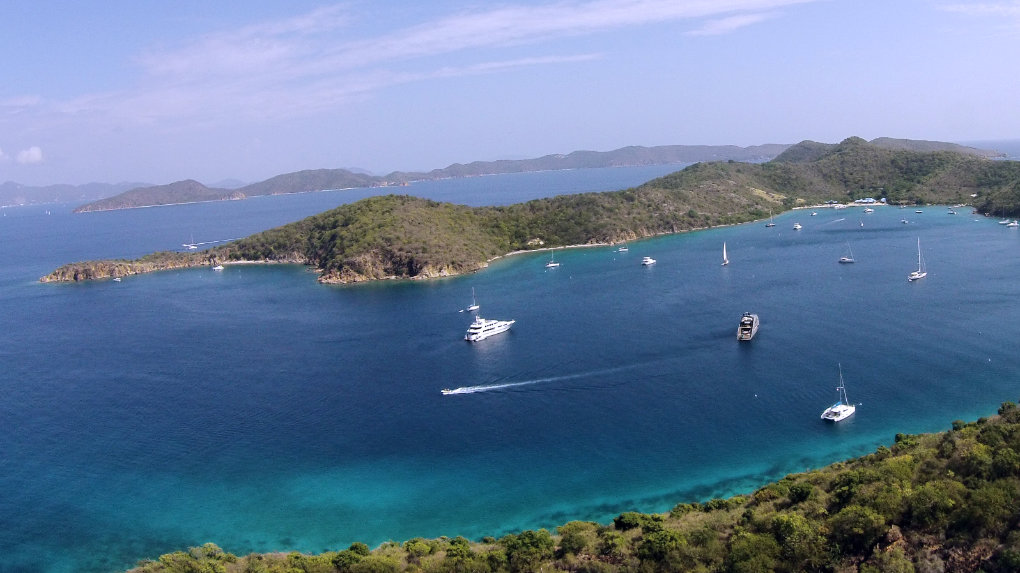 Norman Island - Take It Easy Custom Charters - US Virgin Islands