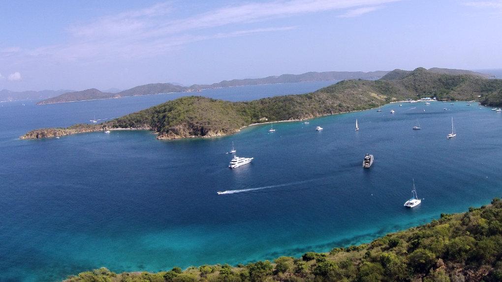Norman Island - Take It Easy Custom Charters - US Virgin Islands
