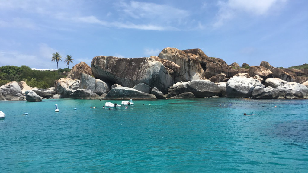 The Baths on Virgin Gorda – British Virgin Islands