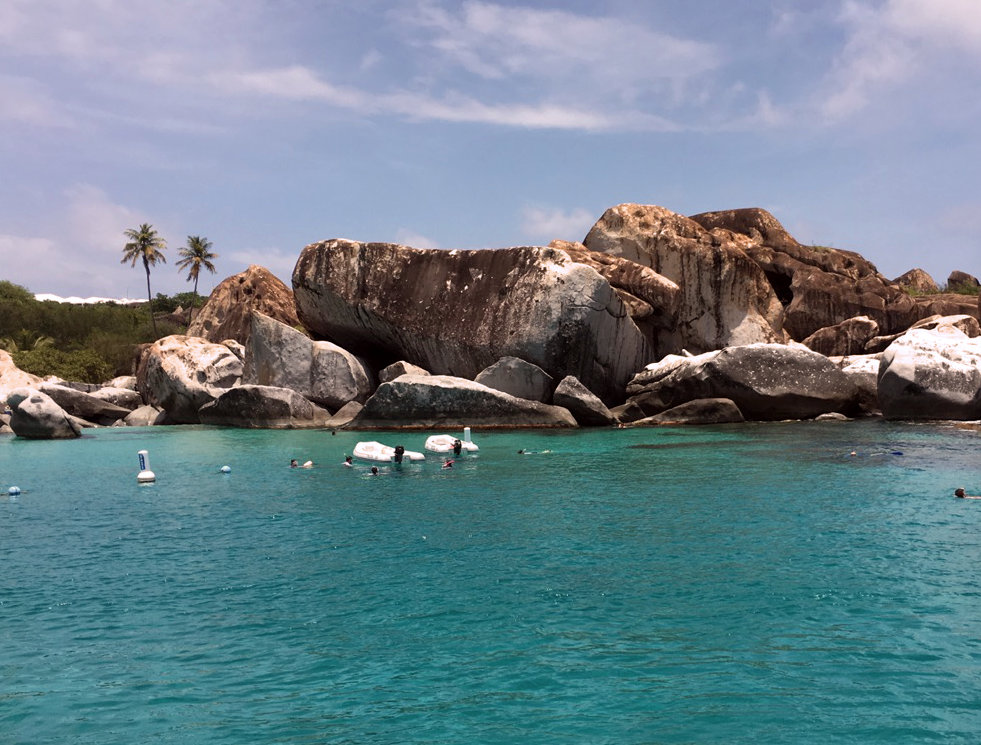 World-Famous Baths at Virgin Gorda, BVI - Take It Easy Custom Charters