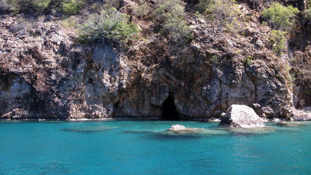 The Caves, Norman Island BVI