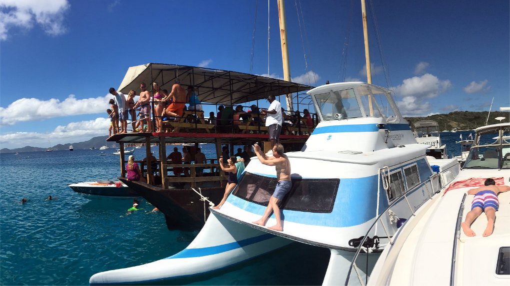 Willy T's Floating Bar & Restaurant - BVI - Take It Easy Custom Charters
