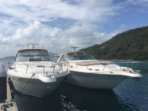 Take It Easy Custom Charters has two private yachts available to charter