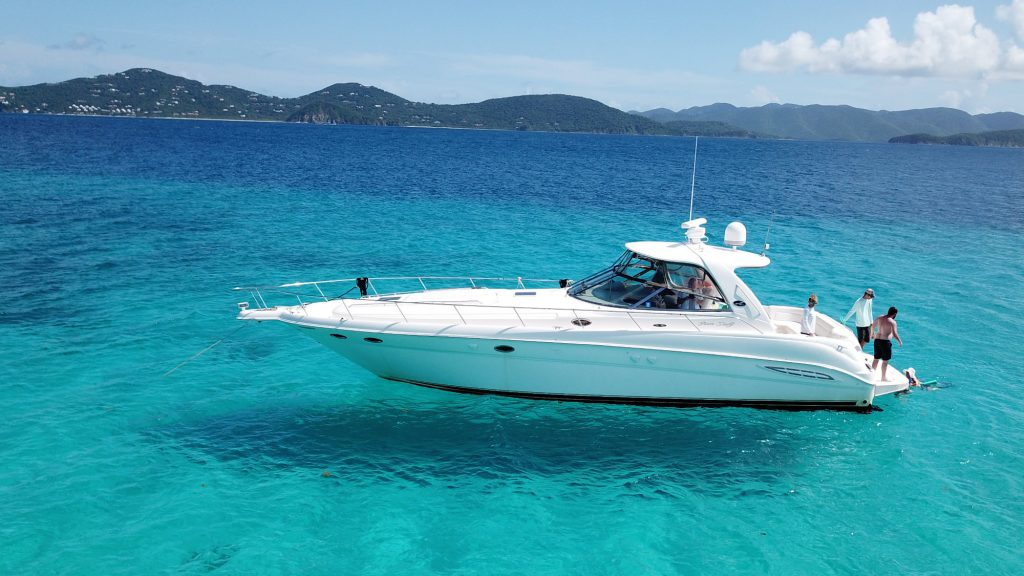 Private yacht boat service USVI BVI 2017-2018